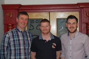 Ciaran McDonald, Richie Power & Jason Devery