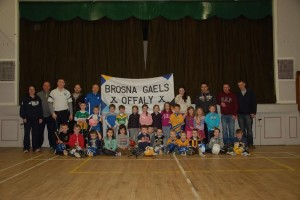 Brosna Gaels - u6 Indoor Hurling 01