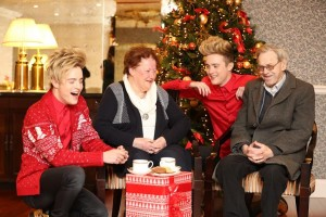 Jedward to donate Christmas sales of single Leave A Mark to ALONE