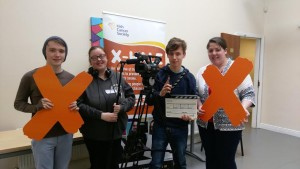 Offaly Youthgroup get behind the camera ahead of the Irish Cancer Society X-HALE Youth Awards