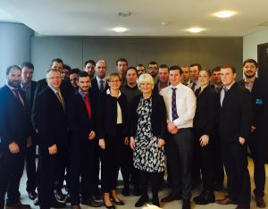 Macra na Feirme Delegation Visits The European Parliament
