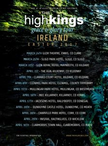 The High Kings Extend Grace And Glory Tour into March/April