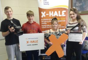 Offaly youth group gets behind the camera ahead of the Irish Cancer Society X-HALE Youth Awards