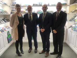 Offaly Delegation Visits Tourism Ireland In New York