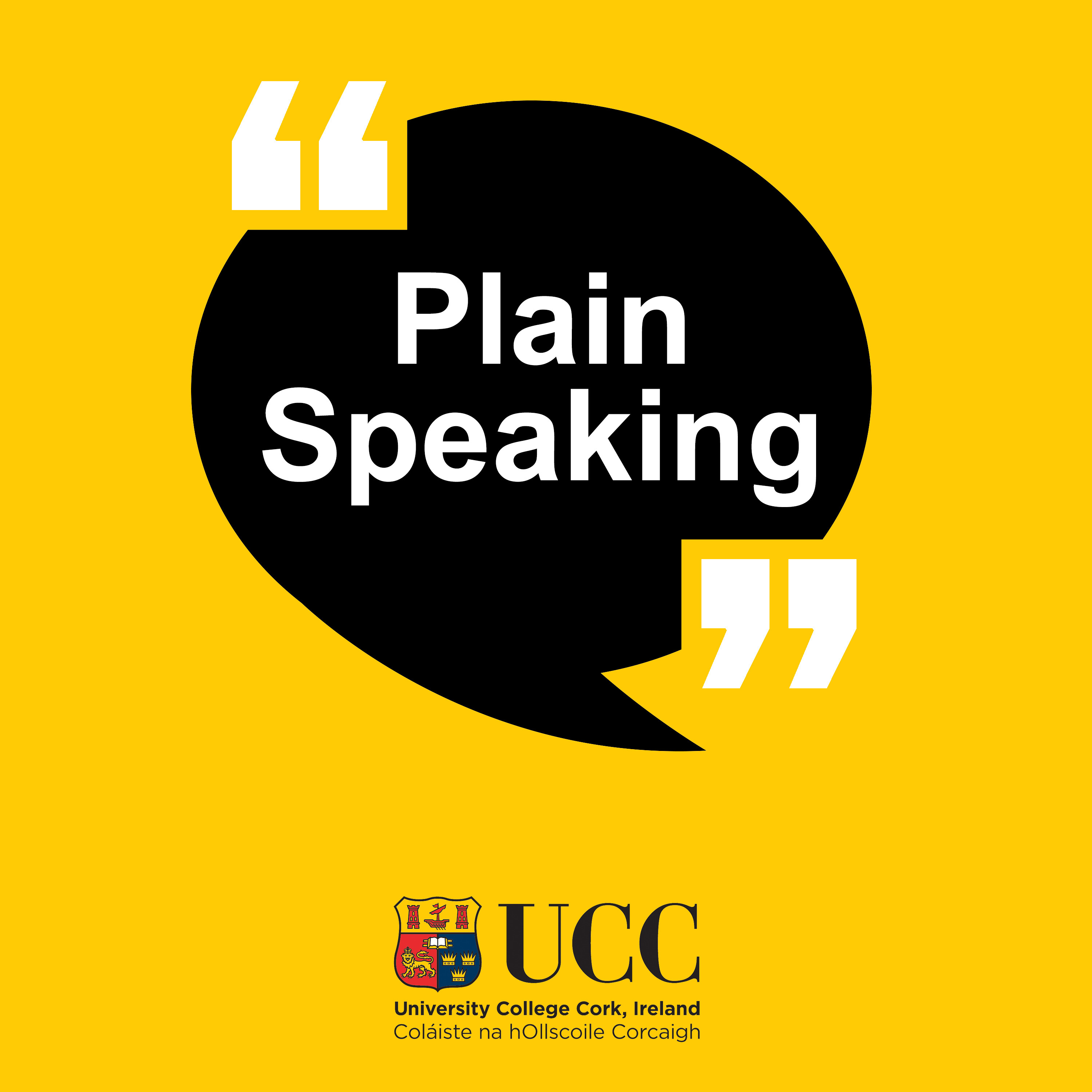 Inside America's Opioid Crisis - New episode of UCC's podcast - Plain Speaking
