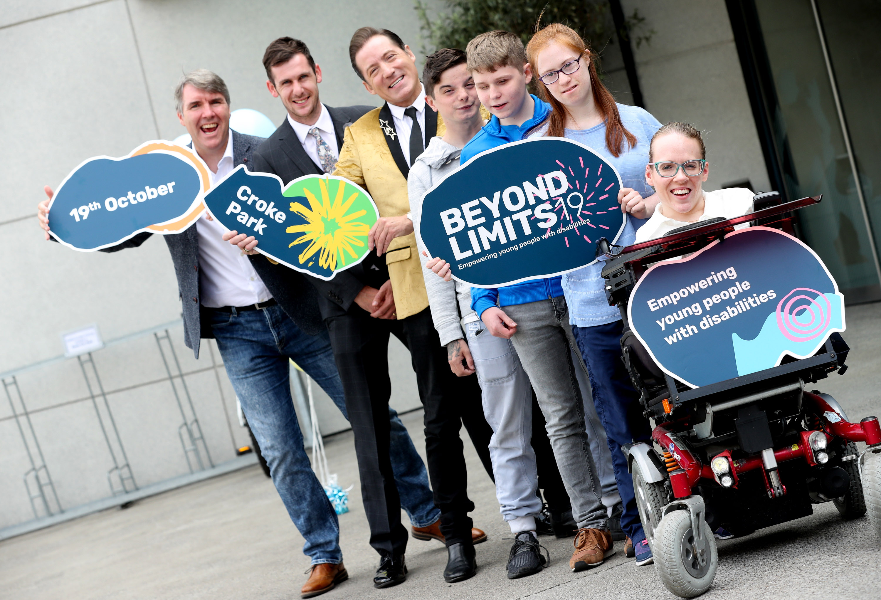 Offaly teenagers take to the stage at Beyond Limits, a summit for young people with disabilities