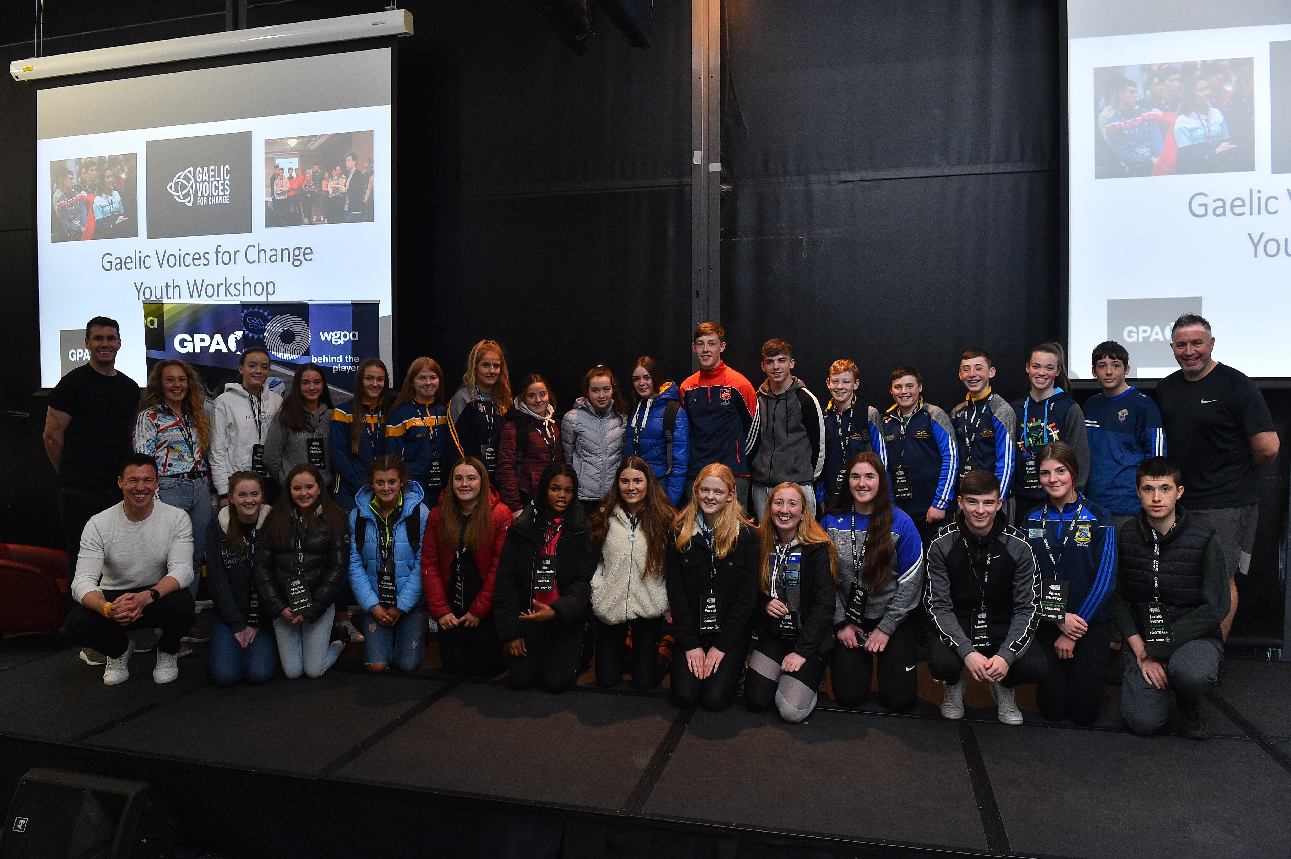 Tullamore among 9 clubs represented at Gaelic Voices for Change Youth Workshop