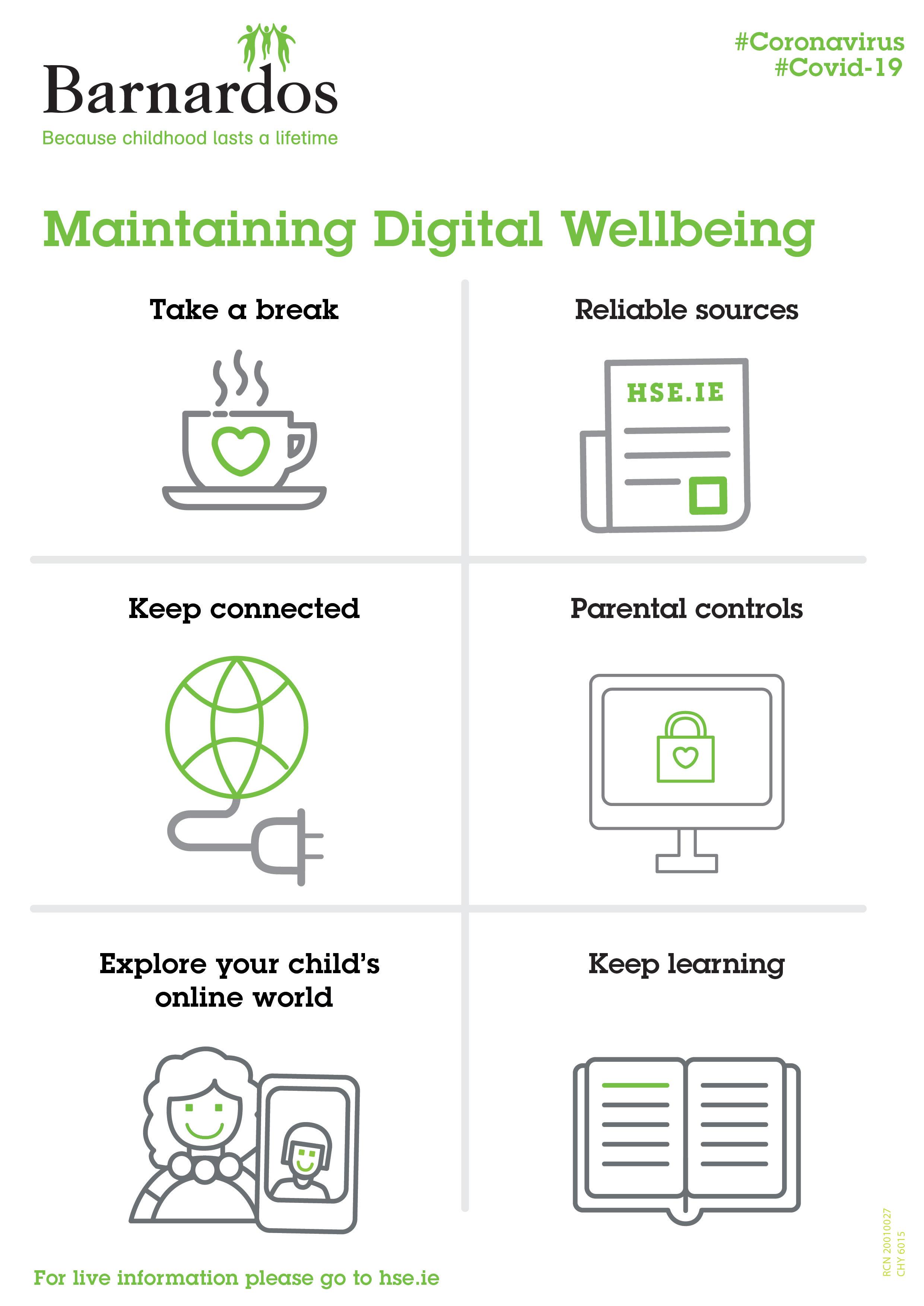 Barnardos Issues Parental Guidance To Maintain Digital Wellbeing #coronavirus #covid19