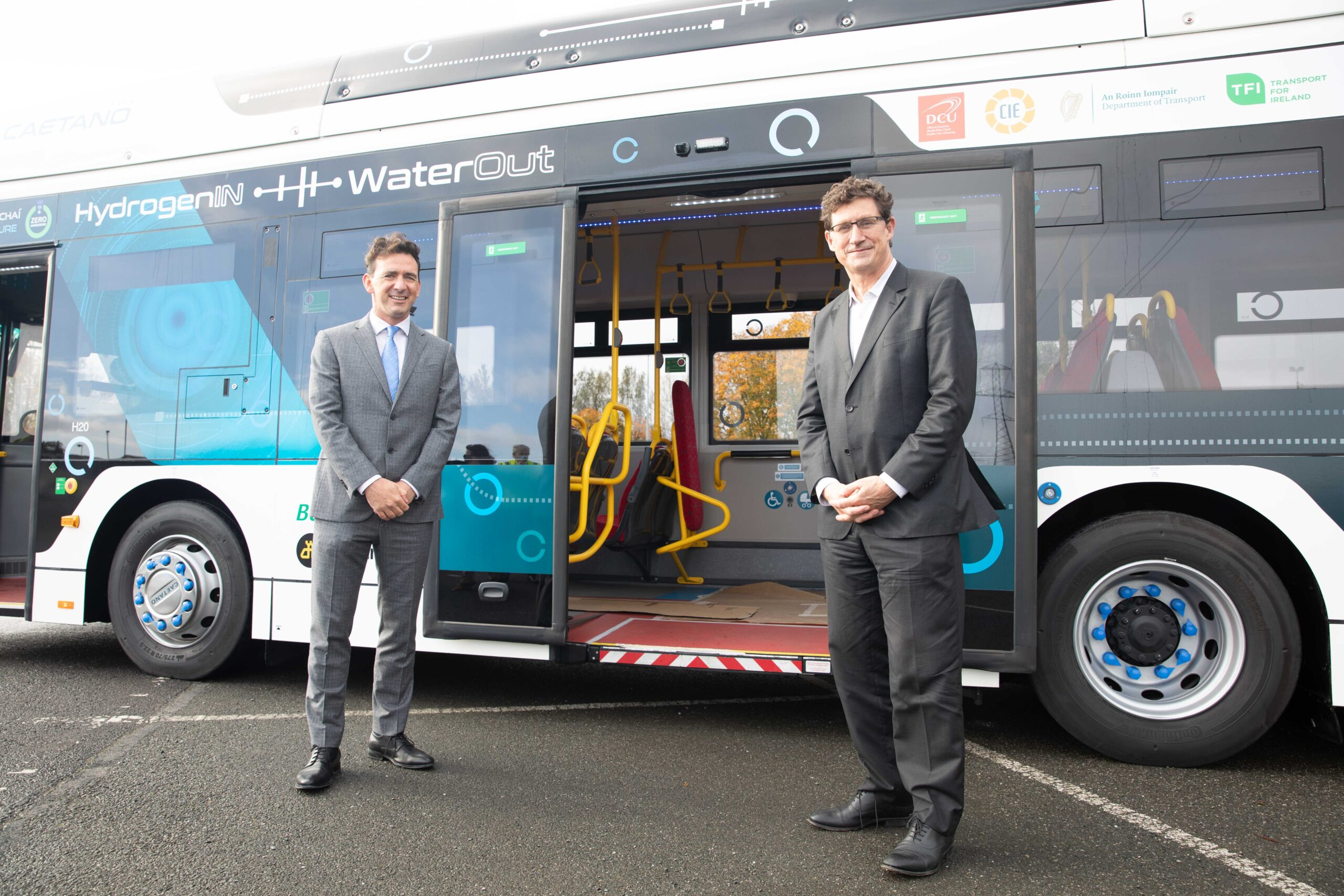 Toyota Hydrogen Fuel Cell Powered Bus  Arrives in Ireland for Limited Trial