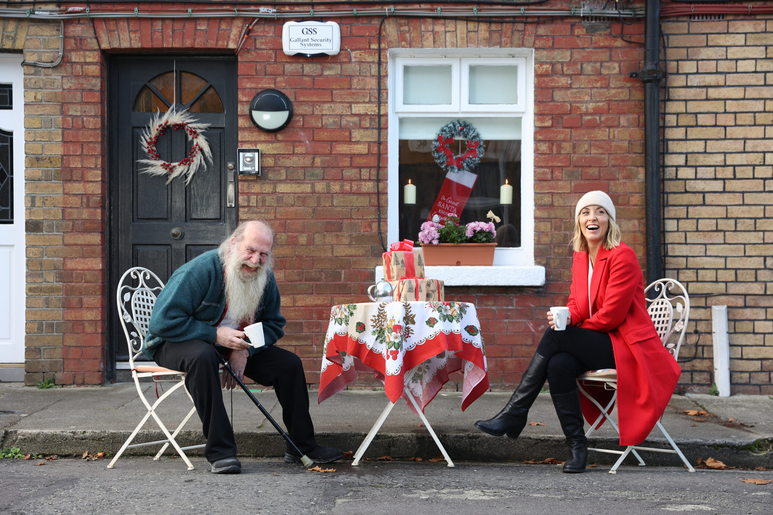 Kathryn Thomas is asking the public to reach out and give a helping hand to older people who may be struggling during the festive season
