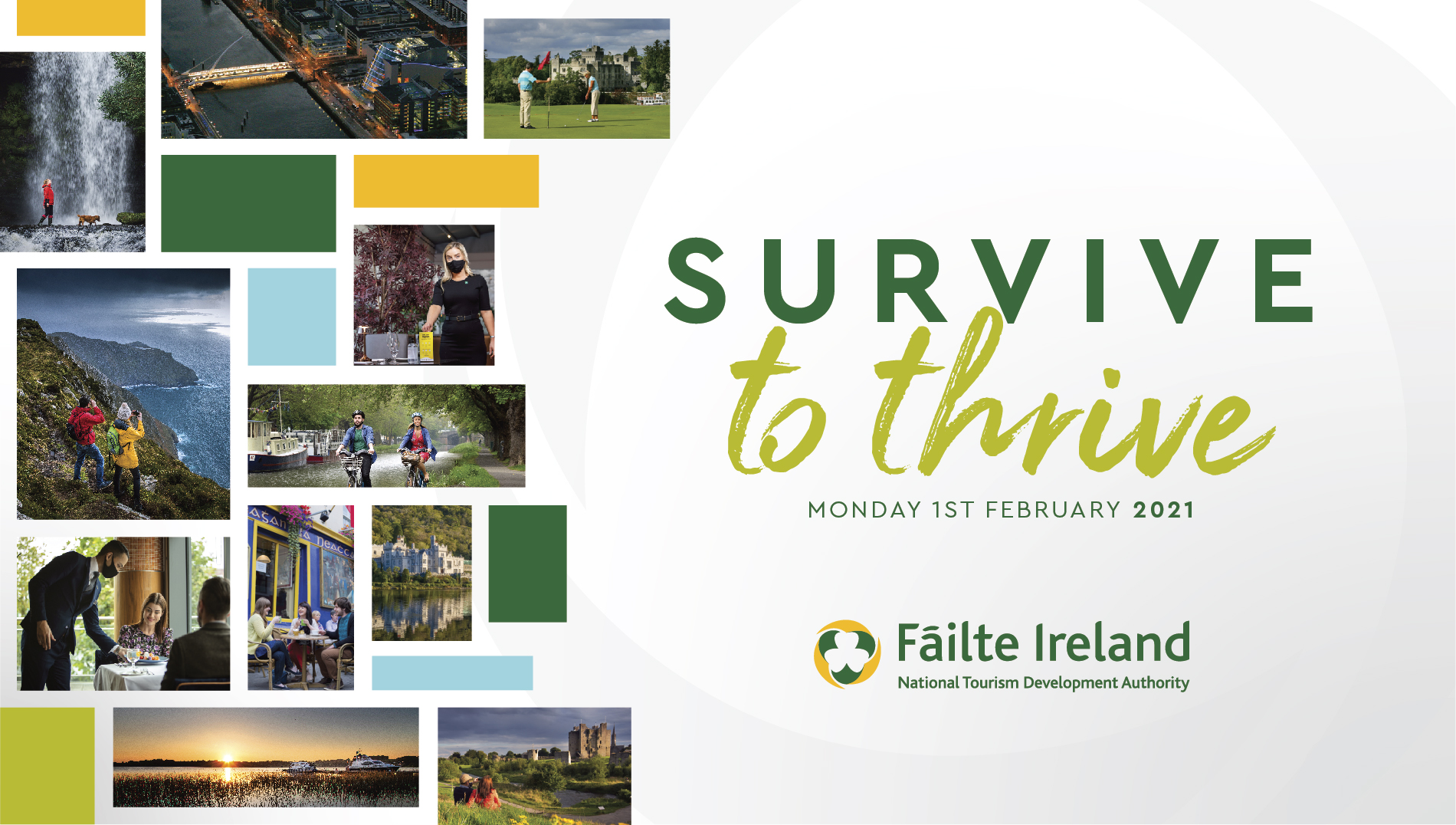 Fáilte Ireland announces details of new €55million business continuity scheme for the tourism sector and priorities for 2021