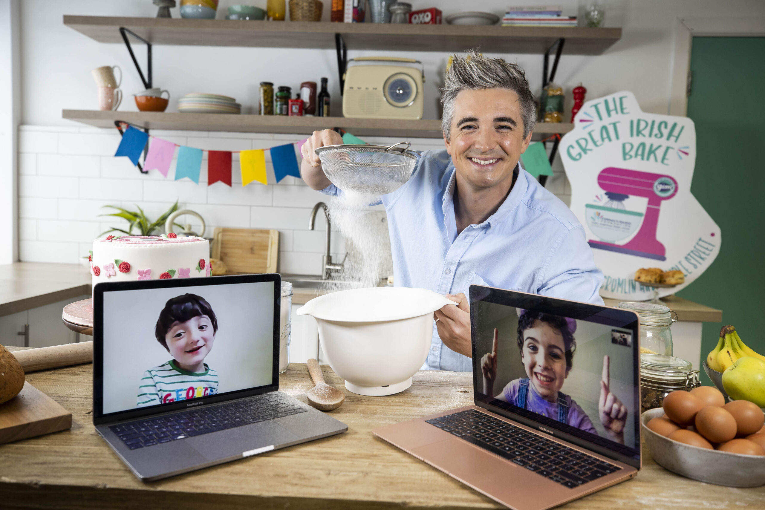 Donal Skehan announced as this year's Great Irish Bake Ambassador for Children's Health Foundation Crumlin and Temple Street