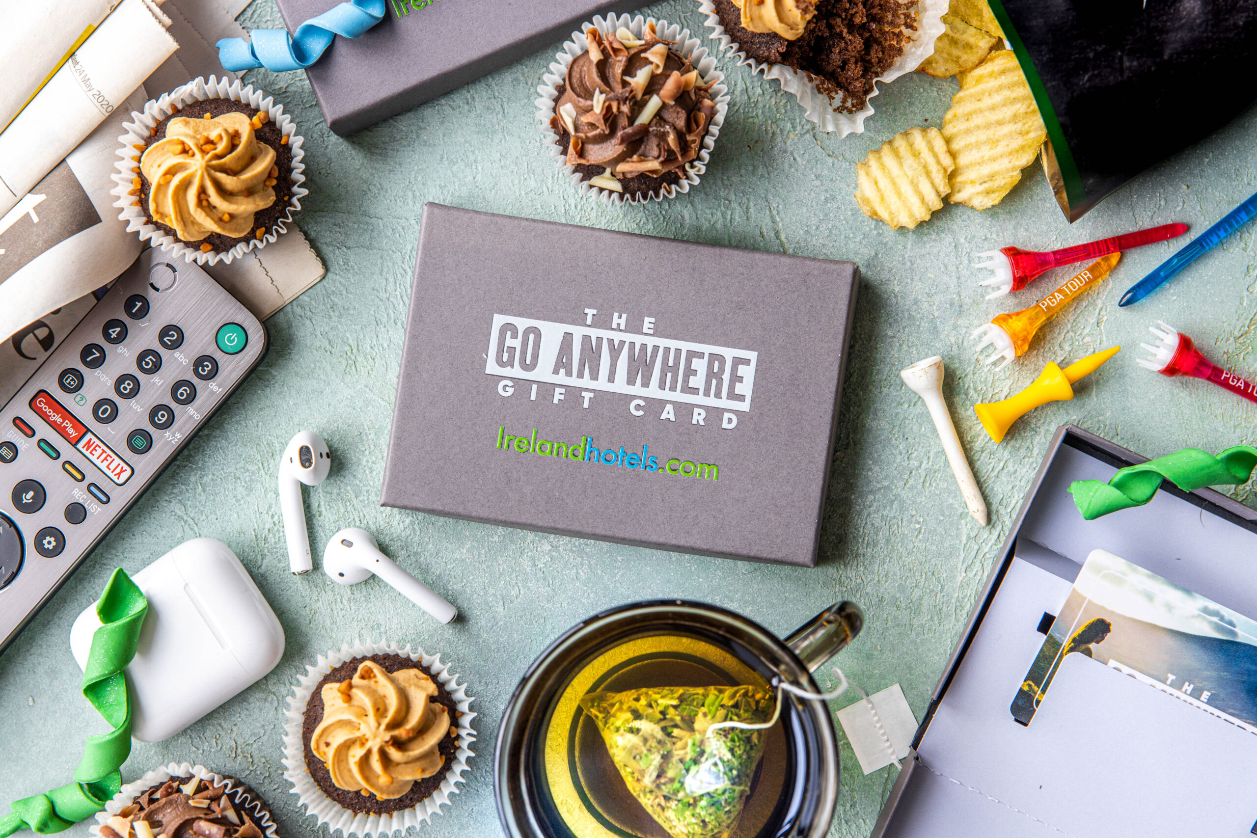 Give the gift of freedom this Father's Day with the 'Go Anywhere Gift Card' from Irelandhotels.com