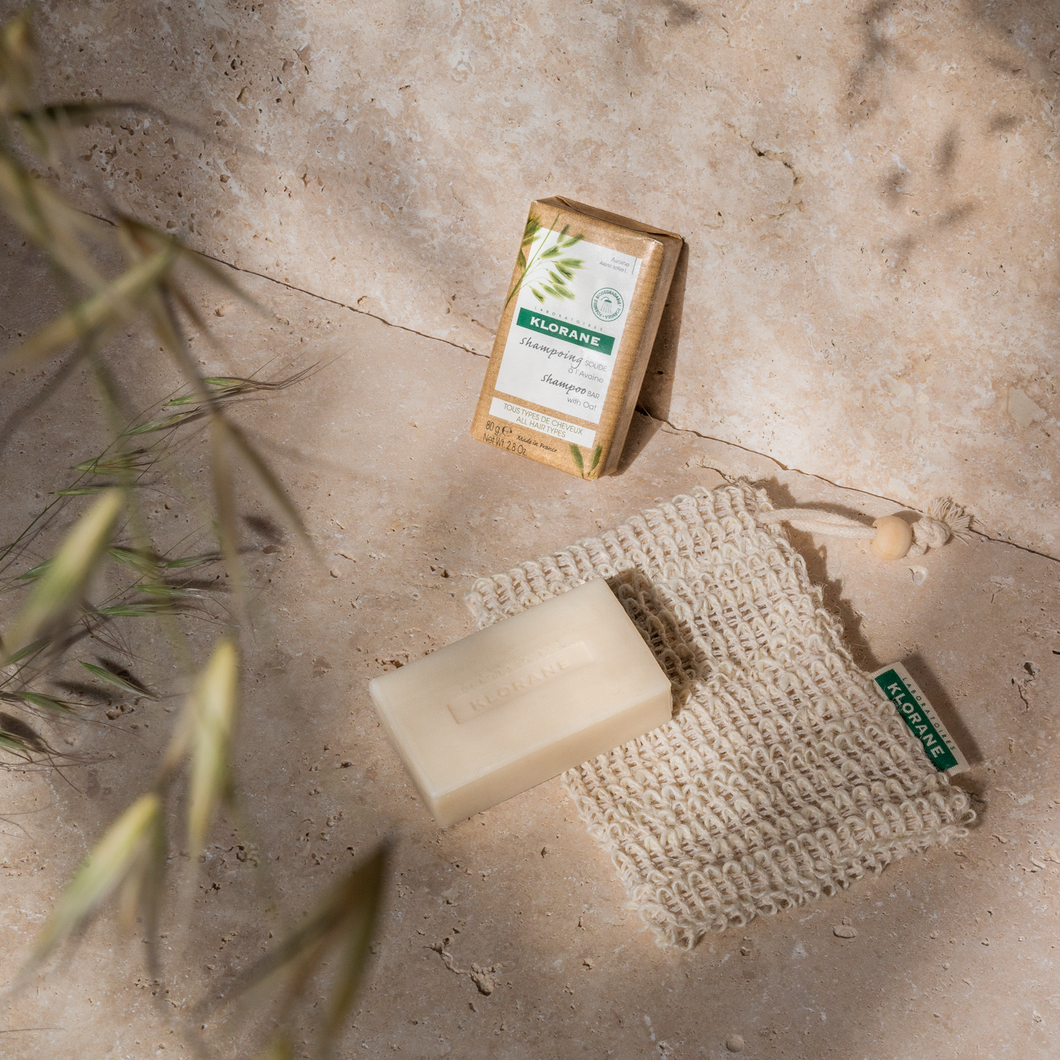Klorane launches an eco-conscious Shampoo Bar with organically farmed Oat