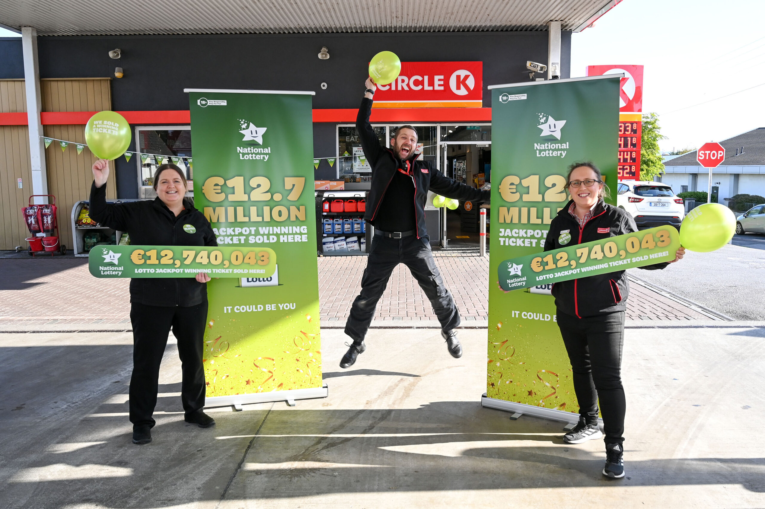 Wednesday's €13 million (est) Lotto jackpot set to hit five year high!