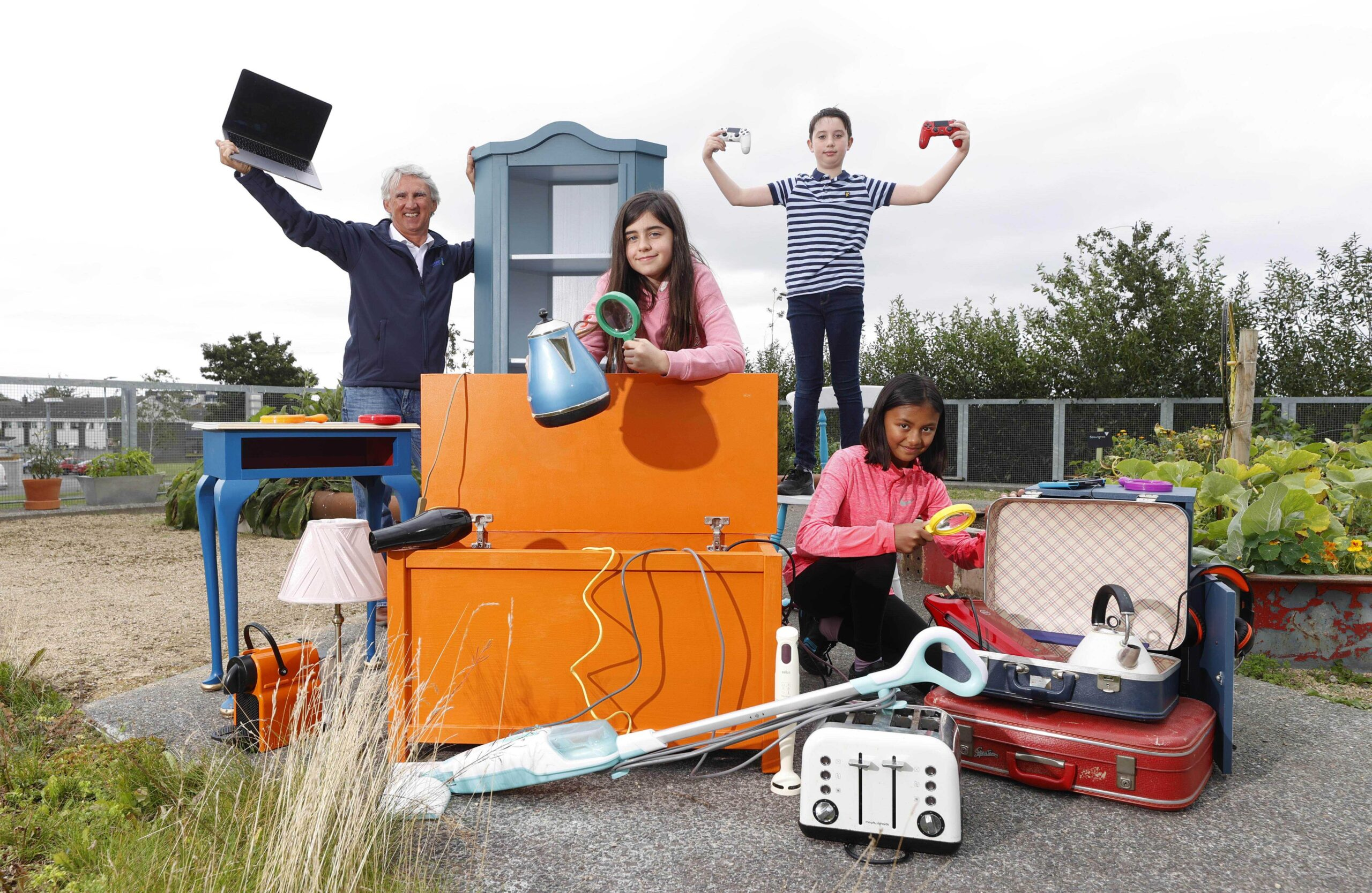 Offaly families challenged to tackle e-waste hoarding